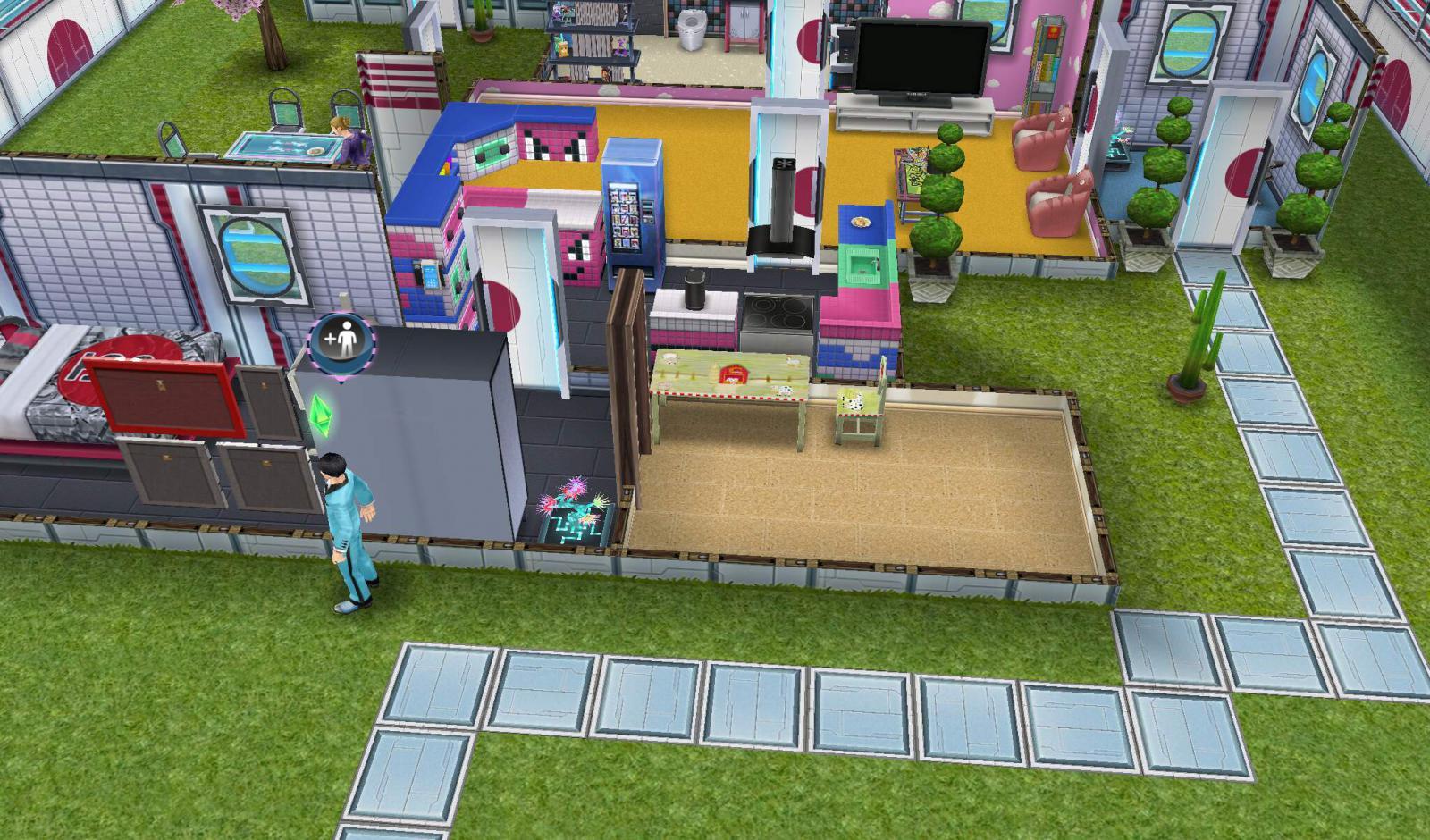 The Sims Freeplay tvoria datovania vzťah görevi